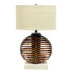 """<strong>Ikebana Sphere 27"""" H Table Lamp with Drum Shade</strong> by Palecek"""