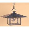 Arroyo Craftsman Monterey 1 Light Hanging Lantern