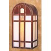 <strong>Arroyo Craftsman</strong> Yorktown 1 Light Outdoor Wall Sconce