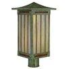 <strong>Arroyo Craftsman</strong> Himeji 1 Light Post Lantern