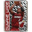 <strong>NBA Dwyane Wade Player Woven Throw Blanket</strong> by Northwest Co.