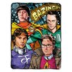 <strong>Northwest Co.</strong> Big Bang Theory Polyester Throw