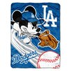 <strong>Northwest Co.</strong> MLB Mickey Mouse Micro Raschel Throw