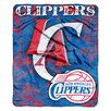 Northwest Co. NBA Los Angeles Clippers Polyester Raschel Throw