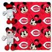 Northwest Co. MLB Cincinnati Reds Mickey Mouse Fleece Polyester Throw