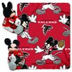 Northwest Co. NFL Atlanta Falcons Mickey Mouse Polyester Fleece Throw