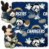 Northwest Co. NFL San Diego Chargers Mickey Mouse Fleece Throw