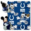 Northwest Co. NFL Indianapolis Colts Mickey Mouse Polyester Fleece Throw