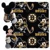 Northwest Co. NHL Boston Bruins Mickey Mouse Fleece Throw