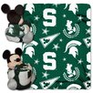 <strong>Northwest Co.</strong> NCAA Mickey Mouse Fleece Throw