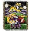 Northwest Co. NCAA LSU Tapestry Throw Blanket
