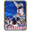 Northwest Co. NHL Hendrick Lundqvist - NY Rangers Player Throw Blanket