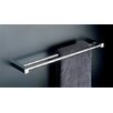 "<strong>WS Bath Collections</strong> Metric 23.6"" Double Towel Bar in Polished Chrome"