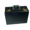 Deluxe Marvelon Coated Vinyl Catalog Case in Black