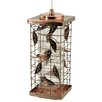 <strong>Akerue Industries</strong> 2 Port Copper Caged Bird Feeder