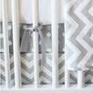 New Arrivals Zig Zag Baby 3 Piece Crib Bedding Set