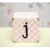 "<strong>New Arrivals</strong> ""j"" Letter Block"