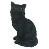 Michael Carr Cat Sitting Up Statue