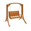 dCOR design Wood Canyon Porch Swing