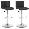 dCOR design CorLiving Adjustable Height Bar Stool (Set of 2)