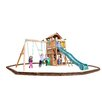 Playtime Swing Sets Madison Swing Set with Play Zone Components