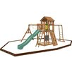 <strong>Playtime Swing Sets</strong> Cypress Swing Set with Play Zone Components