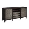 "Crestview Collection Harrison 80"" TV Stand"