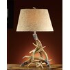 "<strong>Crestview Collection</strong> Lodge Deer Shed 31"" H Table Lamp with Empire Shade"