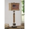 """Crestview Collection Industria Americana 39"""" H Table Lamp with Rectangular Shade"""