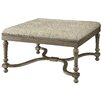 Crestview Collection Baroque Ottoman