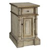 <strong>Crestview Collection</strong> Victoria 1 Drawer Chairside Cabinet