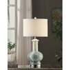 "Crestview Collection Manhattan Sea Breeze 28"" H Table Lamp with Drum Shade"