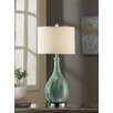 "Crestview Collection Manhattan Sea Scape 30"" H Table Lamp with Drum Shade"
