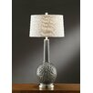 "Crestview Collection Manhattan Hydrangia 35"" H Table Lamp with Empire Shade"