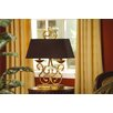 """Crestview Collection Charleston 27"""" H Table Lamp with Rectangular Shade"""