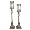 <strong>Crestview Collection</strong> Traditions 2 Piece Metal Ashland Candlestick Set