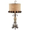 """Crestview Collection Summit Bloom 31.25"""" H Table Lamp with Drum Shade"""