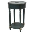 Crestview Collection Hyannis Accent Clock End Table