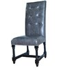 Crestview Collection Camden Leather Side Chair