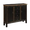 Crestview Collection Belgrade Wall 4 Drawer Cabinet