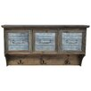 Crestview Collection Wood/Metal Shelf