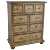 Crestview Collection Alexandria 4 Drawer Tall Chest