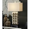"""Crestview Collection Bennett 33"""" H Table Lamp with Rectangle Shade"""