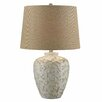 "Crestview Collection Sand Coral 25.5"" H Table Lamp with Empire Shade"