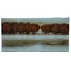 Crestview Collection Weeping Willows in the Distance Oil Painting Print on Canvas