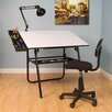 <strong>Studio Designs</strong> Ultima Four Piece Laminate Drafting Table Set
