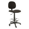 Studio Designs Height Adjustable Drafting Chair with Casters