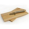 Charcoal Companion Steven Raichlen Cedar Two Plank Salmon Set with Spices
