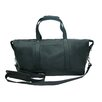 "<strong>Piel Leather</strong> 17"" Deluxe Leather Carry-On Duffel"
