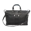 "<strong>Piel Leather</strong> Traveler 19"" Leather Travel Duffel with Pockets"